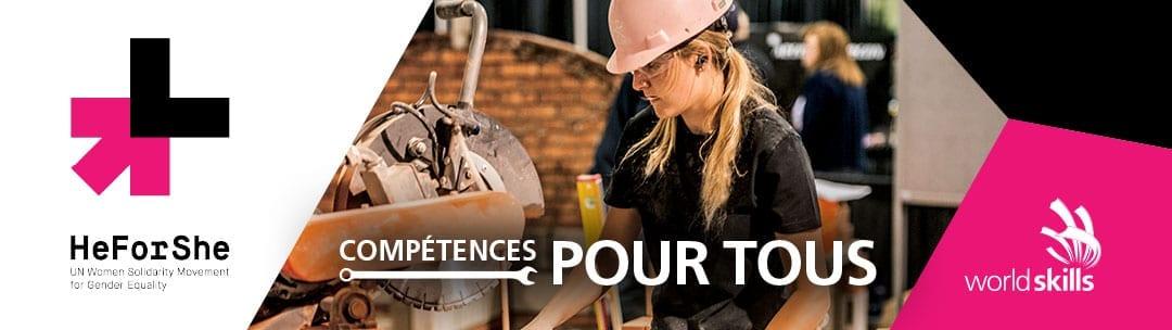 SKILLS/COMPÉTENCES CANADA APPUIE LE MOUVEMENT HEFORSHE