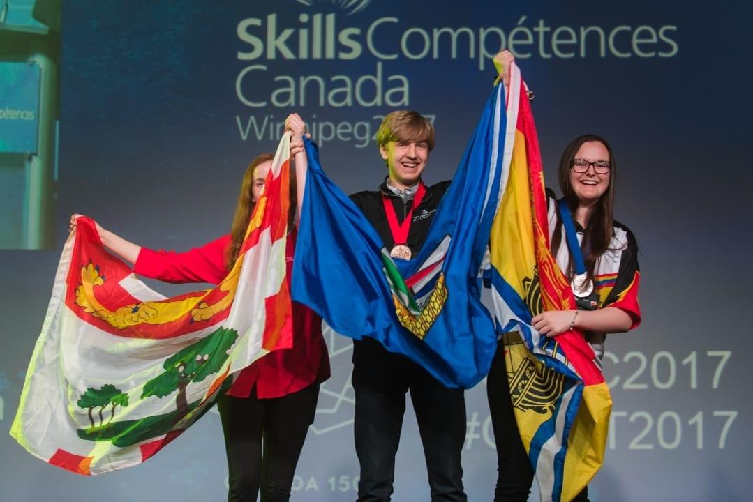 DE JEUNES CANADIENS SE DÉMARQUENT AUX OLYMPIADES CANADIENNES DES MÉTIERS ET DES TECHNOLOGIES : 43 NOUVEAUX CHAMPIONS NATIONAUX SONT COURONNÉS À WINNIPEG